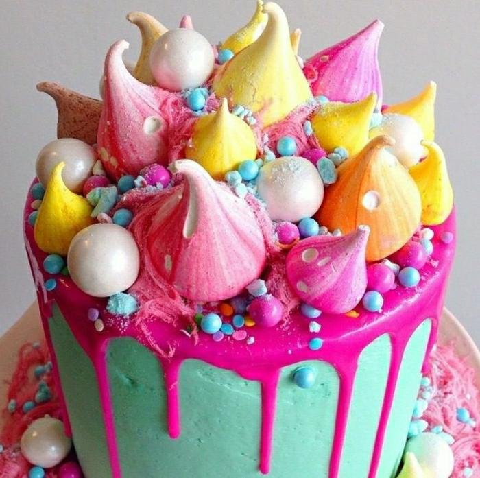 Quel g teau anniversaire fille choisir - Decoration de gateau d anniversaire ...