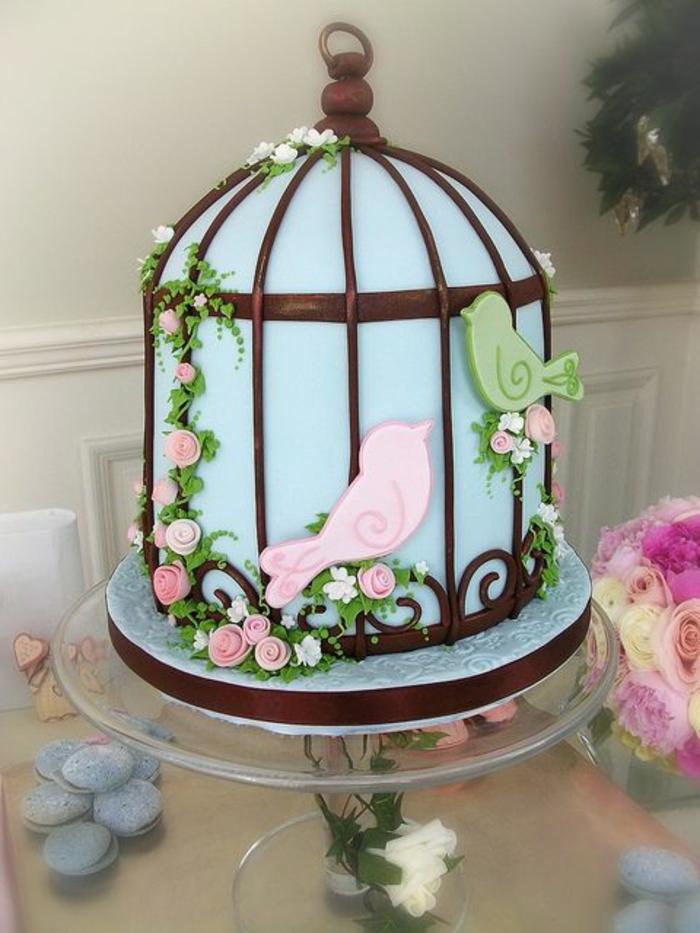 Déco-gateau-anniversaire-enfant-disney-recette-gateau-anniversaire-fille-1-an-cage