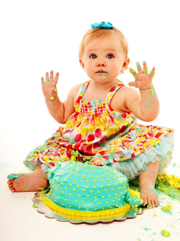 Déco-gateau-anniversaire-enfant-disney-recette-gateau-anniversaire-fille-1-an-petit-bébé-fille