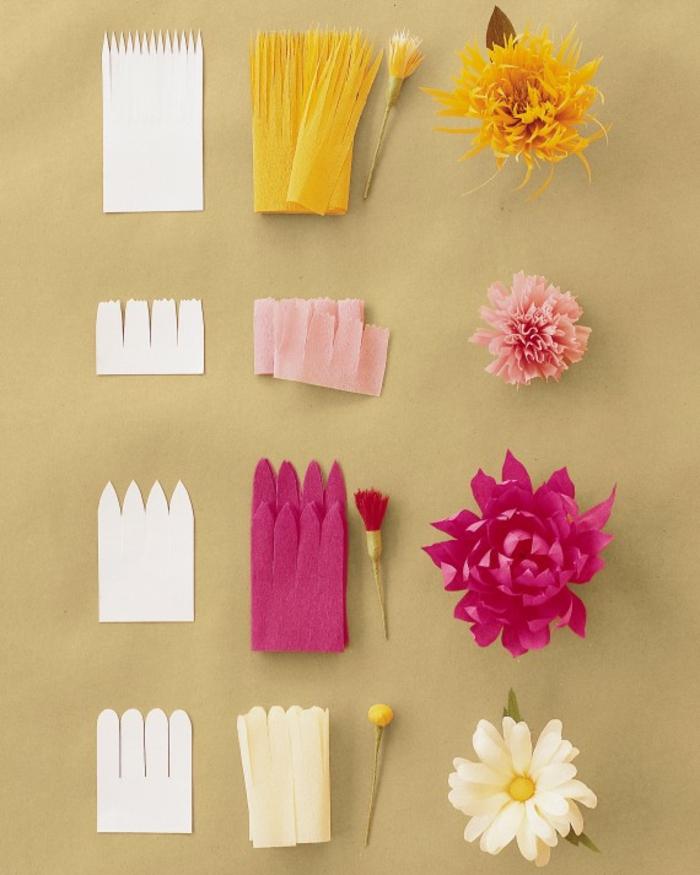 DIY-fleurs-papier-crepon-bouquet-de-mariée-fleur-en-papier-crépon-idée-originale