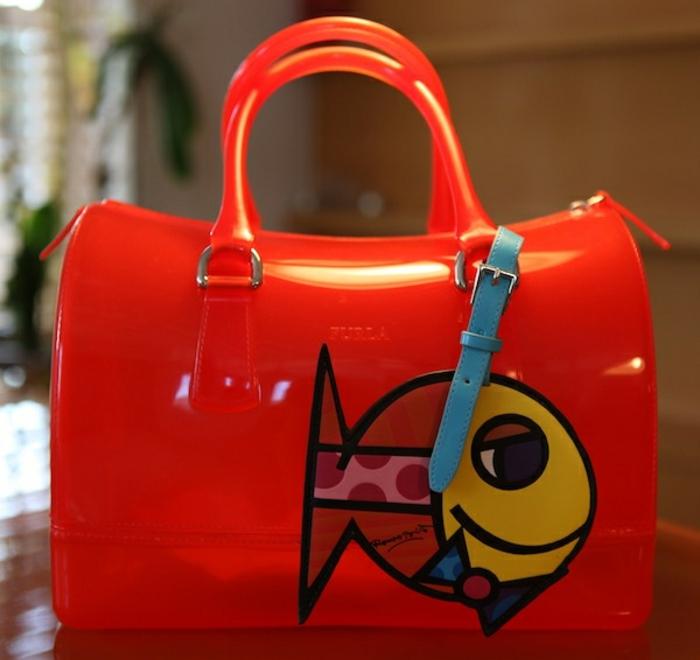 Furla-Candy-Bag-en-orange-possion-mer-été-collection-Furla