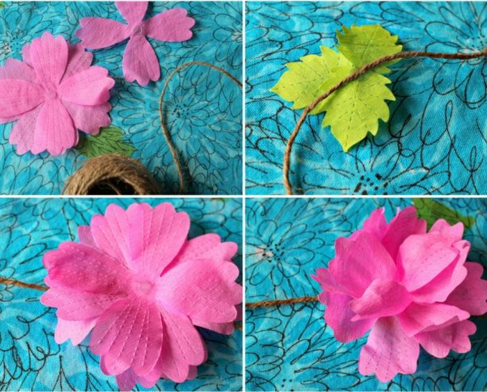 Idée-omment-faire-une-fleur-en-papier-crepon-fleur-jolie-idée