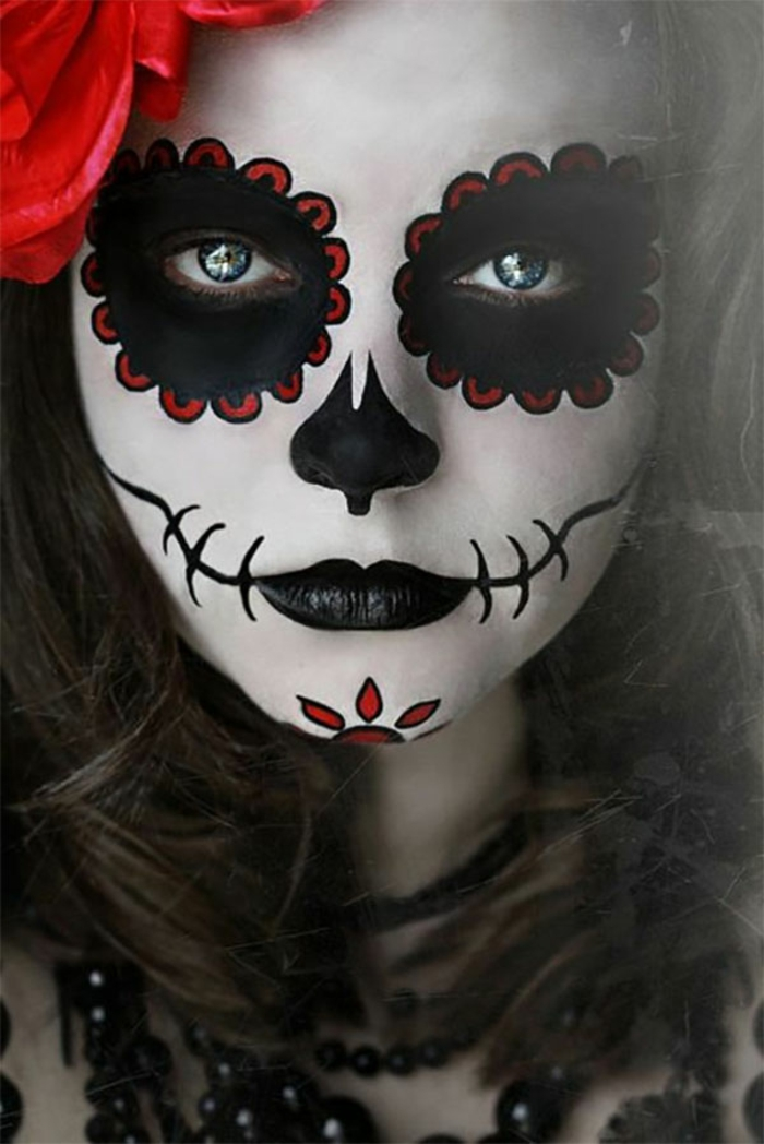 maquillage halloween 2015
