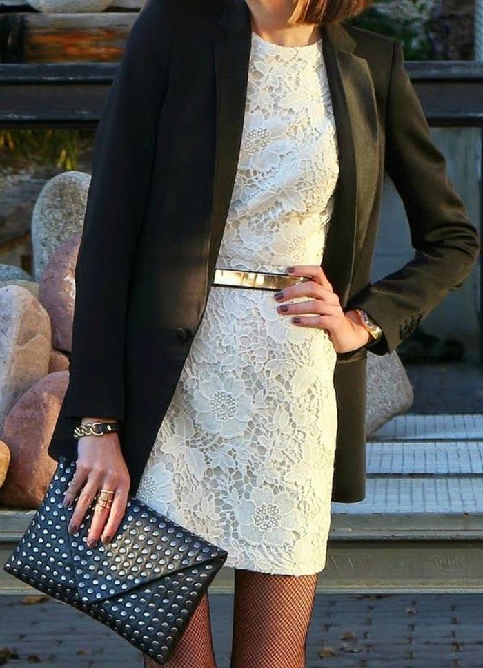 Une-robe-dentelle-blanche-belle-idée-tenue-été-automne-sac-à-main