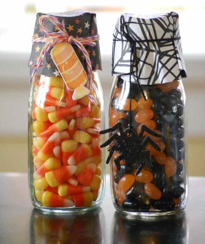 Verre-bonbonnière-idée-creative-pour-la-déco-pot-en-verre-helloween-idée