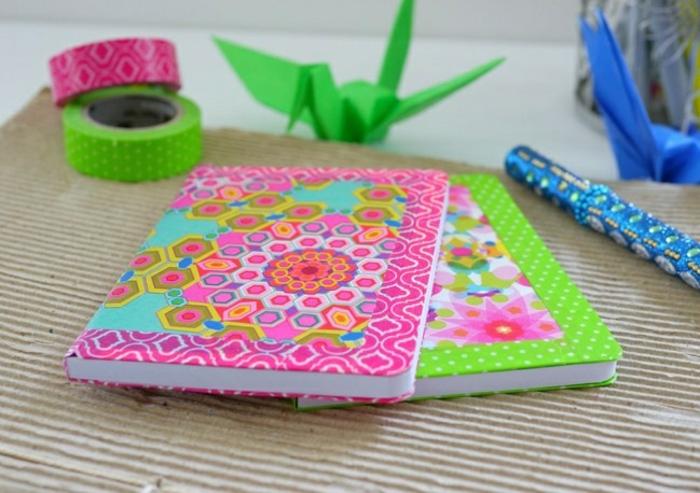 agenda-scolaire-personnalisable-cahier-personnalisable-idées-originales-coloré