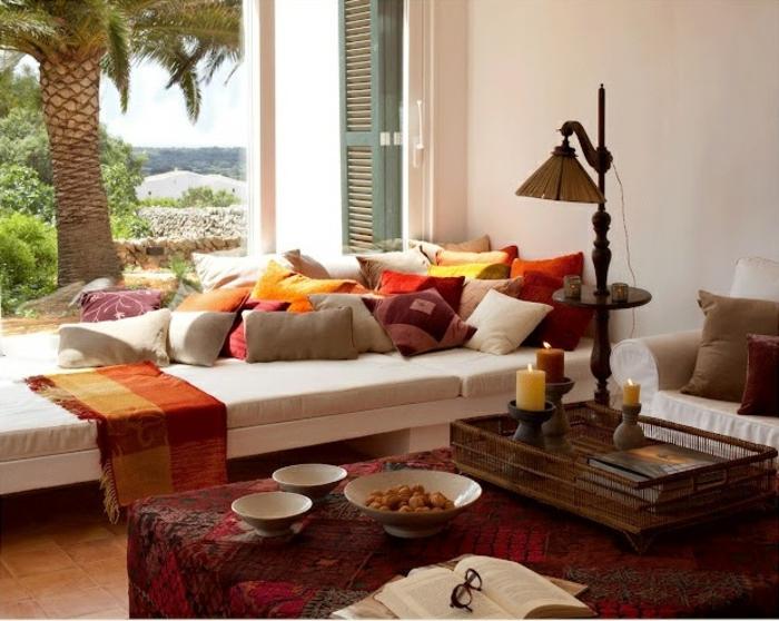 aménagement-salon-marocain-design-decoration-marocaine-palme-maison-au-bord-de-la-mer-idée-déco