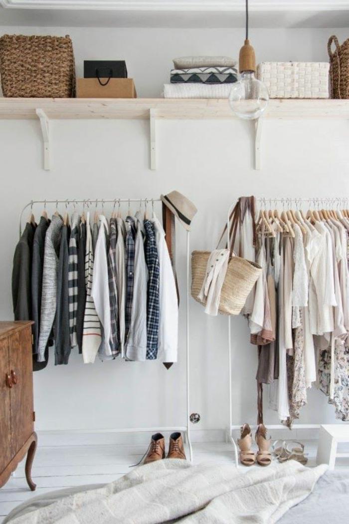 aménager-un-dressing-joli-rangement-de-vêtements
