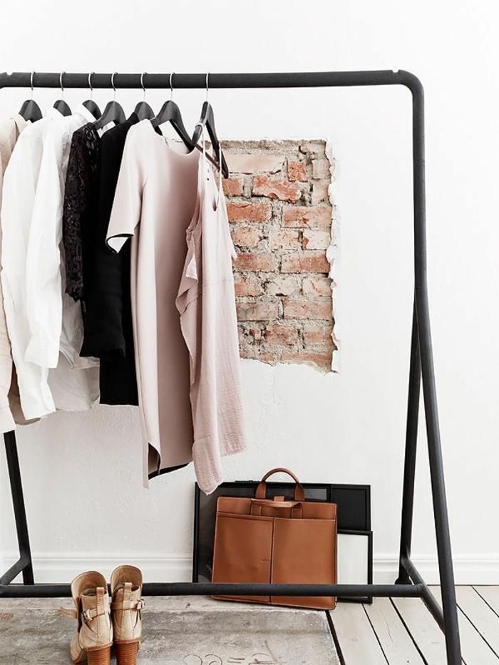 aménager-un-dressing-un-porte-vêtements