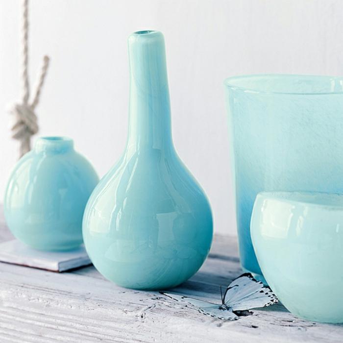 bac-vase-design-vase-deco-pot-réservoir-vase-verre-transparent-aigue-marine