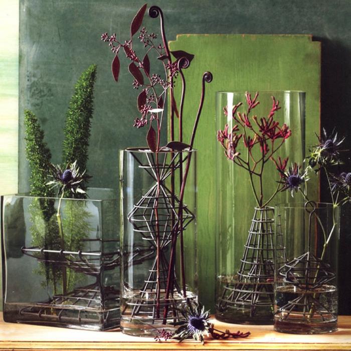 bac-vase-design-vase-deco-pot-réservoir-vase-verre-transparent-belle-déco-chambre-verte