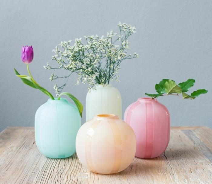 L vase en verre un joli d tail de la d co for Bocaux decoration cuisine
