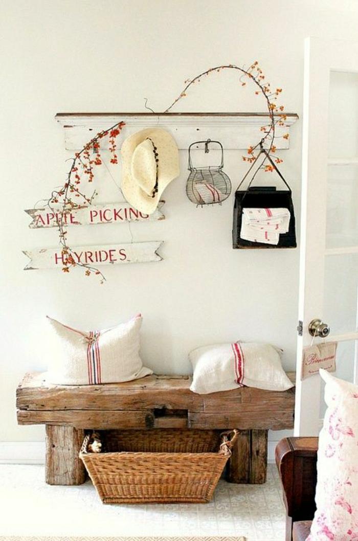 banc en bois brut. Black Bedroom Furniture Sets. Home Design Ideas