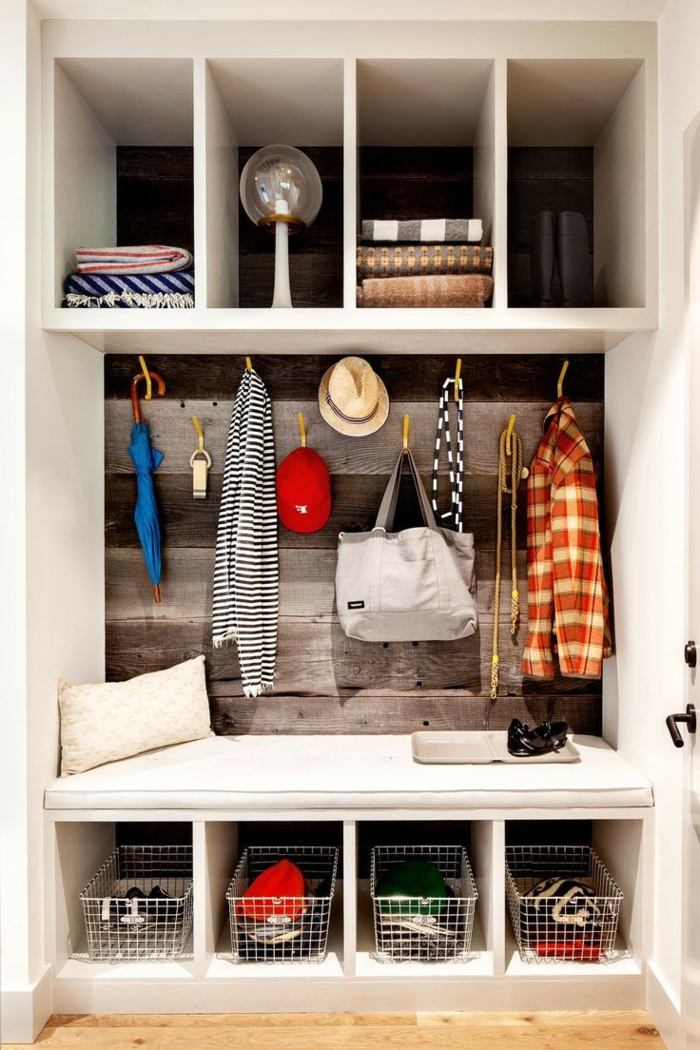 le banc de rangement un meuble fonctionnel qui personnalise le d cor. Black Bedroom Furniture Sets. Home Design Ideas