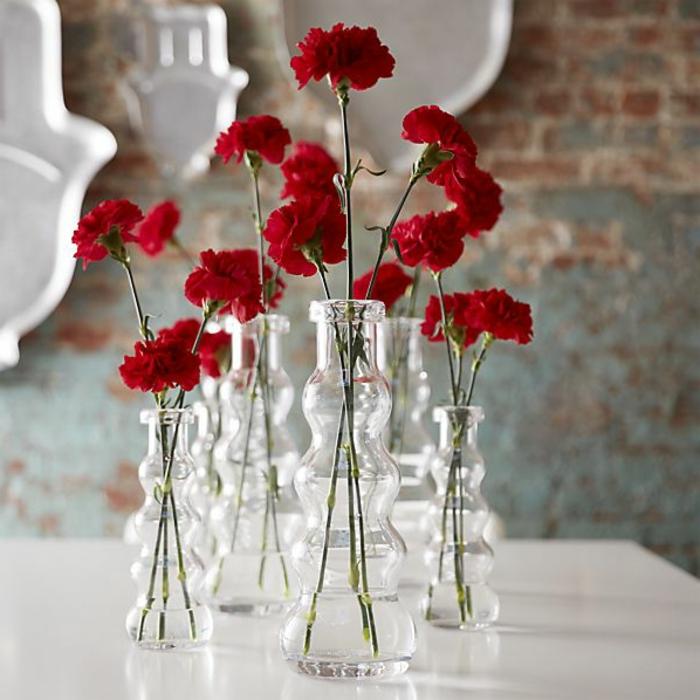 L vase en verre un joli d tail de la d co - Comment decorer un verre ...