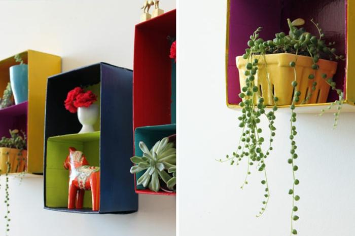 boîte-de-rangement-boîtes-étagères-murales