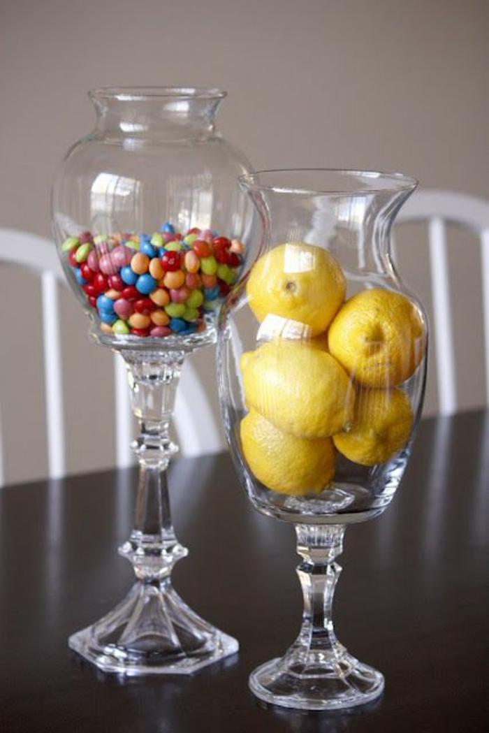 bonbonnière-en-verre-joli-article-décoration-verre-bocal-fruits-limones-bonbons-m&m