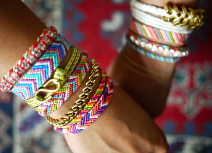 bracelets-brésilien-tuto-bracelets-colorés-comment-on-peut-faire-brasilian-bracelet