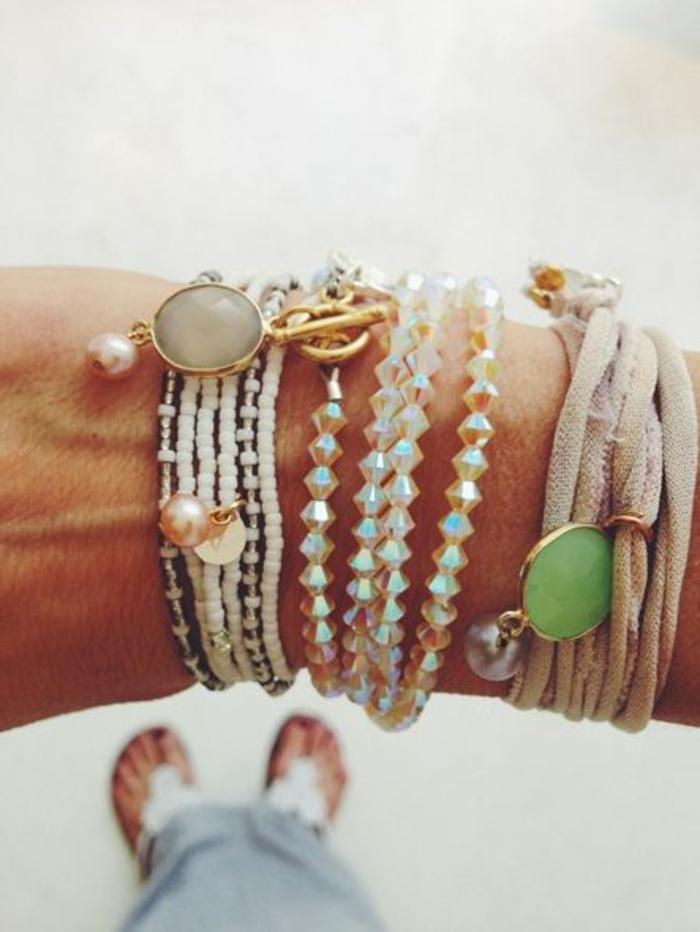 bracelets-brésilien-tuto-idee-pour-comment-faire-bracelet-bresilien-bijoux-pas-chers