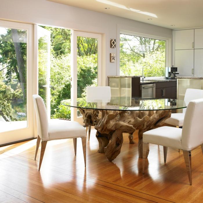 branche-bois-flotté-table-bois-flotté-bois-flotté-bricolage-tronc-arbre-deco-cuisine