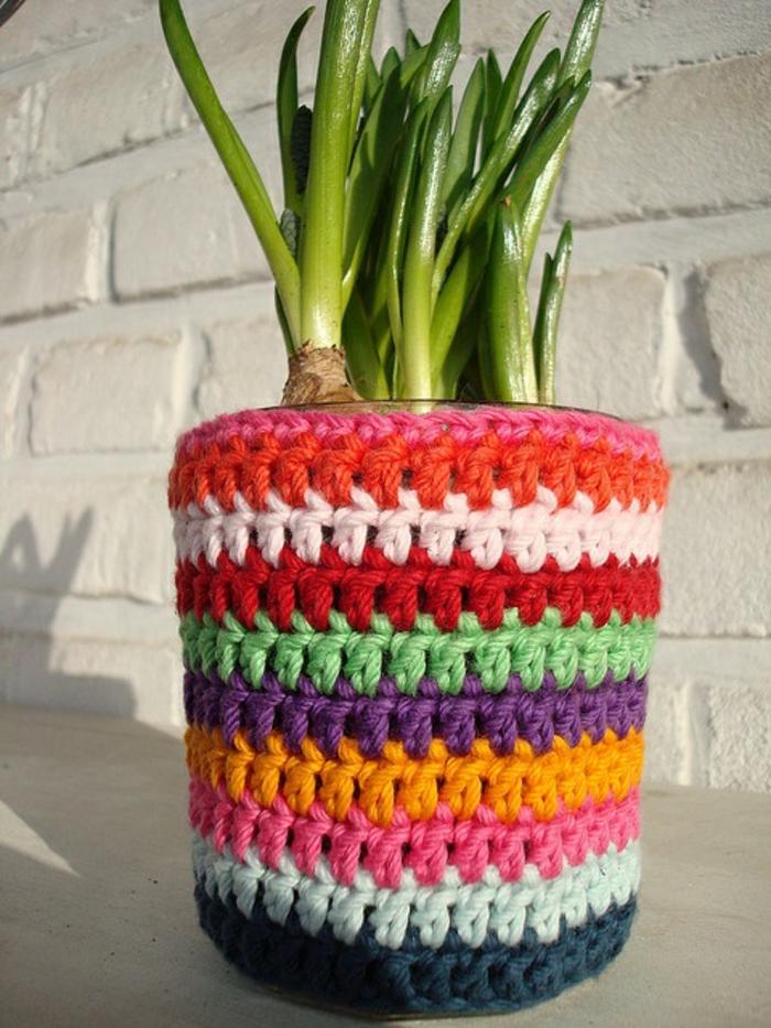 cache-pot-pas-cher-cache-pot-tricoté