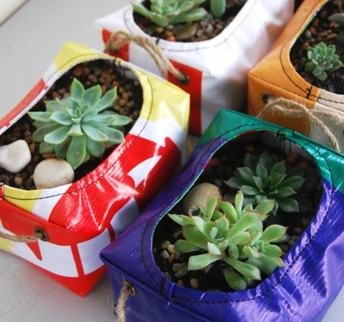 cache-pot-pas-cher-cache-pots-en-matériaux-recyclés