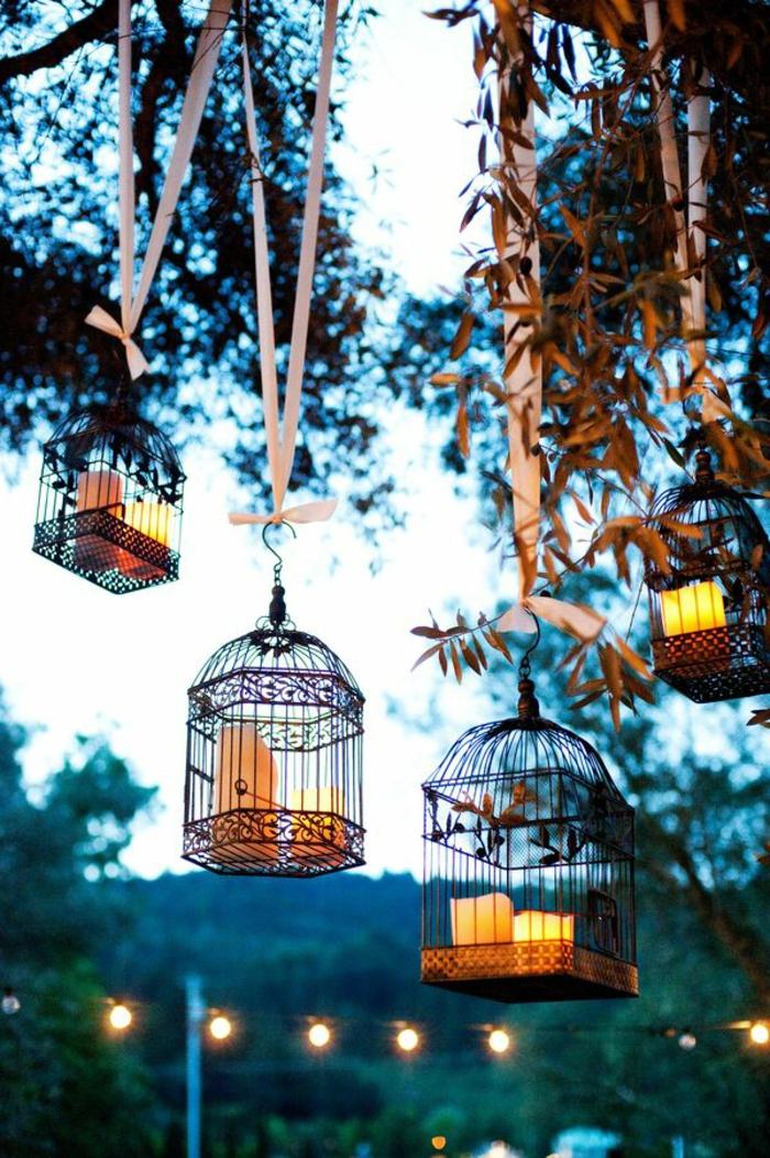 cage-à-oiseaux-décorative-cages-à-oiseaux-suspendues