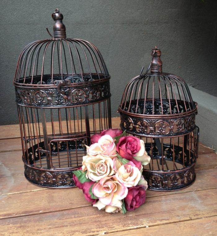 cage-à-oiseaux-décorative-déco-avec-des-cages-d'acier
