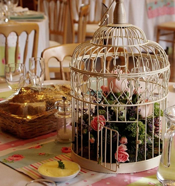 cage-à-oiseaux-décorative-décoration-de-table-cage-décorative
