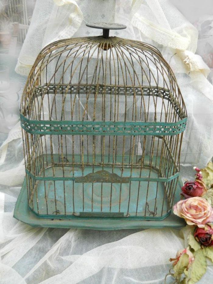 cage-à-oiseaux-décorative-décoration-vintage-de-fêtes