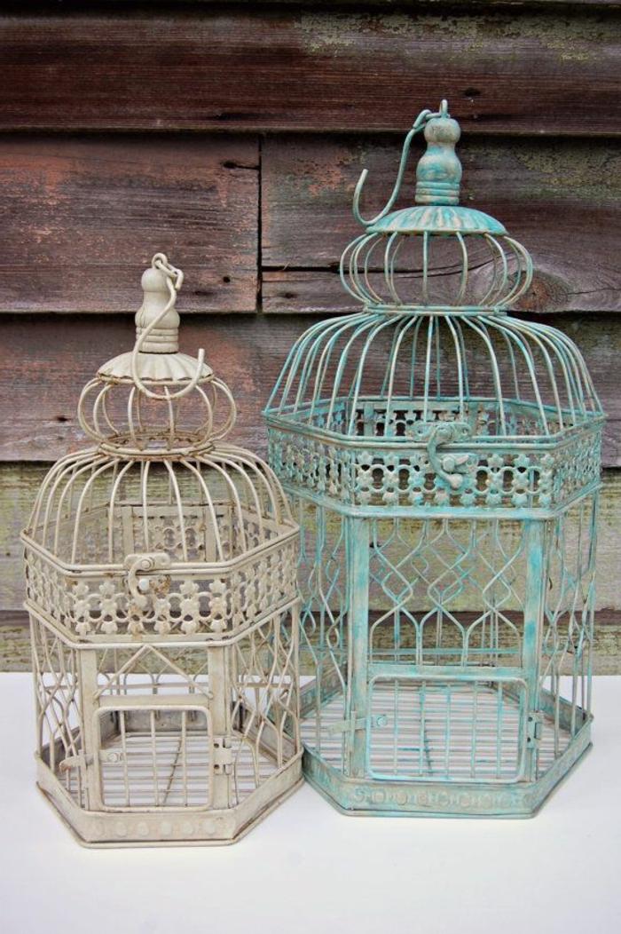 cage-à-oiseaux-décorative-décoration-vintage-originale