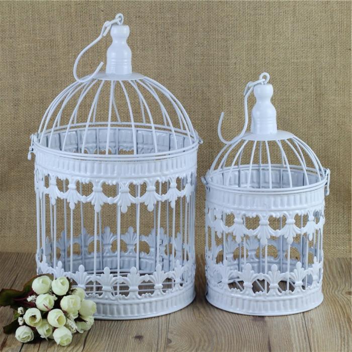 cage-à-oiseaux-décorative-deux-cages-douces