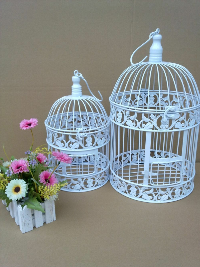 la cage oiseaux d corative tendance shabby chic. Black Bedroom Furniture Sets. Home Design Ideas