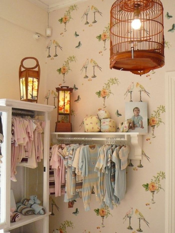 La cage à oiseaux décorative - tendance shabby chic - Archzine.fr