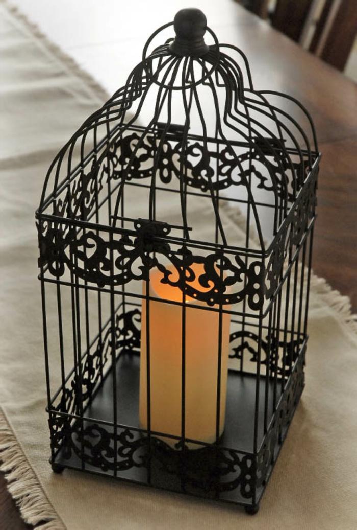 cage-à-oiseaux-décorative-lanterne-grillage-métallique