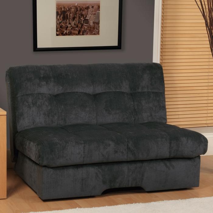 canapés-convertibles-futon-noir