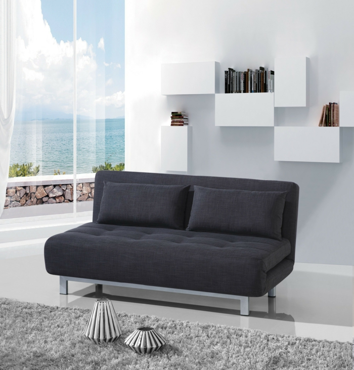 les canap s convertibles designs intelligents de canap s lits. Black Bedroom Furniture Sets. Home Design Ideas