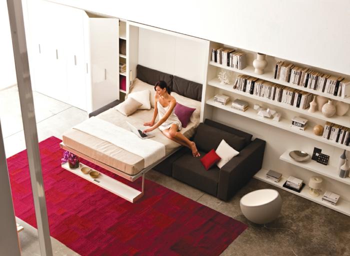 les canap s convertibles designs intelligents de canap s lits. Black Bedroom Furniture Sets. Home Design Ideas