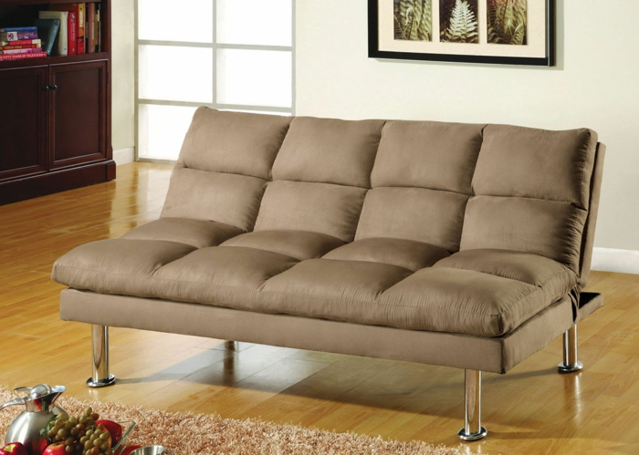 canapés-covertibles-sofa-lit-avec-futon-ebeige