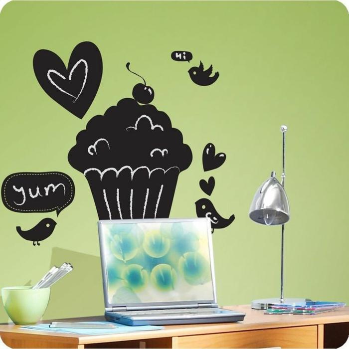 carrelage-mural-ardoise-tableau-ecolier-ardoise-deco-tableau-noir-aimanté-inspiration