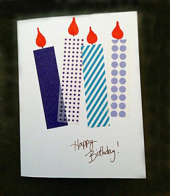 carte-d-anniversaire-décoration-anniversaire-carte-dromataire-coloré-bougies