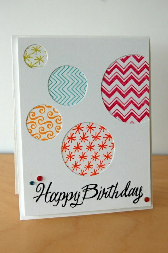 Relativ La plus jolie carte d'anniversaire en 52 variantes! TS35