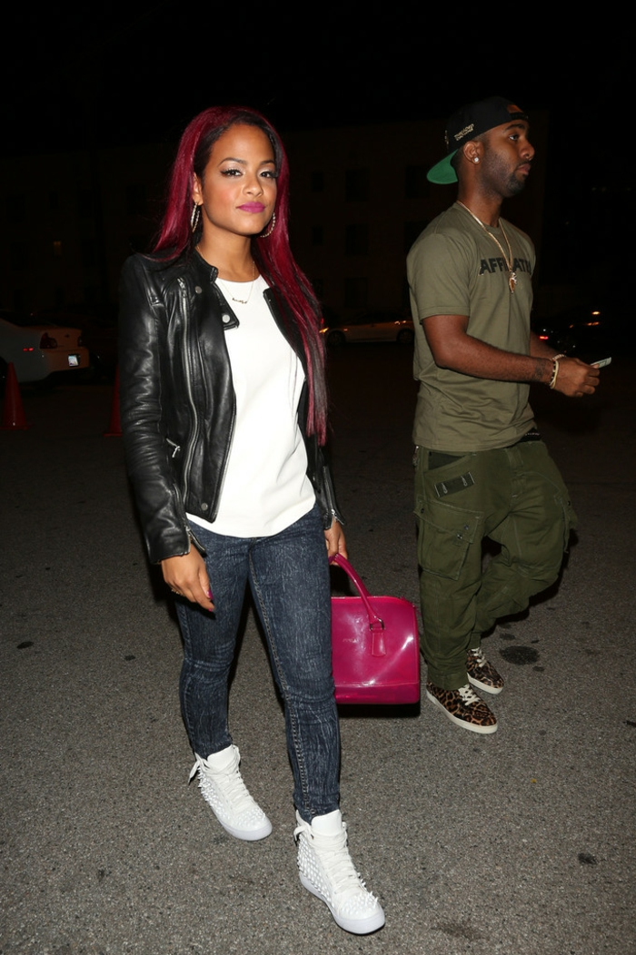 christina-milian-supper-nightclub-west-hollywood-furla-candy-transparent-bag-jeffrey-campbell-alva-spike-stud-sneakers-3-resized