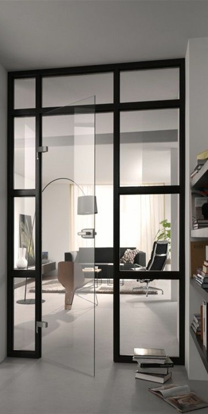 Chambre Luxe Moderne : Séparer le salon d'autres chambres avec une cloison amovible Ikea!
