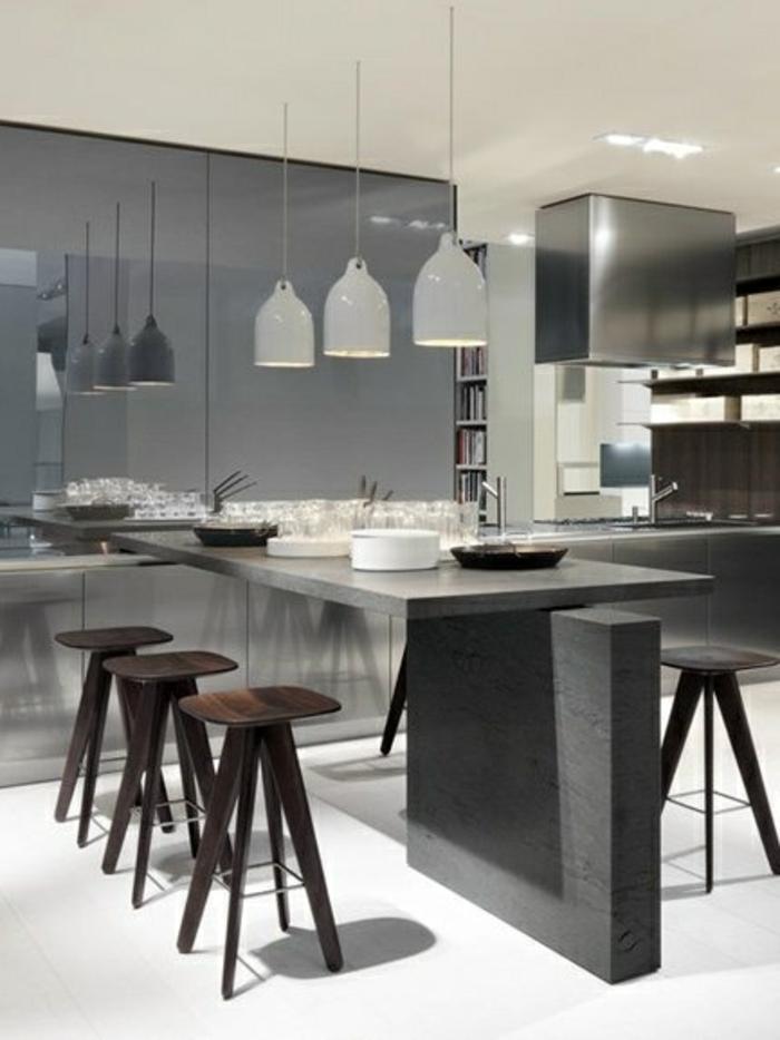 comment-choisir-un-îlot-de-cuisine-gris-sol-blanc-meubles-dans-la-cuisine-modernes