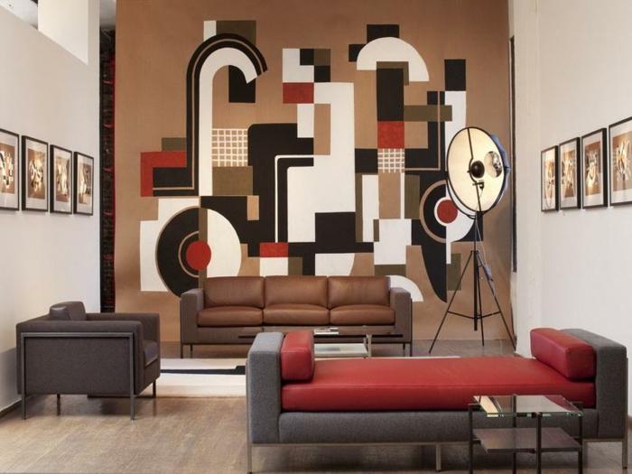 comment-décorer-sa-chambre-avec-nos-astructs-idee-deco-chambre-ado-décoration-murale-canapé-rouge