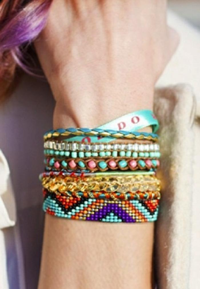 comment-faire-des-bracelets-brésiliens-idée-pour-bracelets-brésiliens-colorées-bracelet-brésilien-technique-bracelet-brésilien