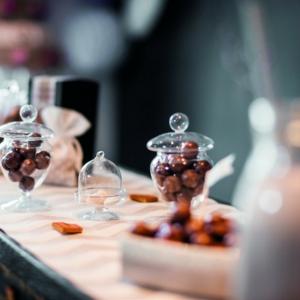 La bonbonnière en verre - une touche mignon pour votre maison