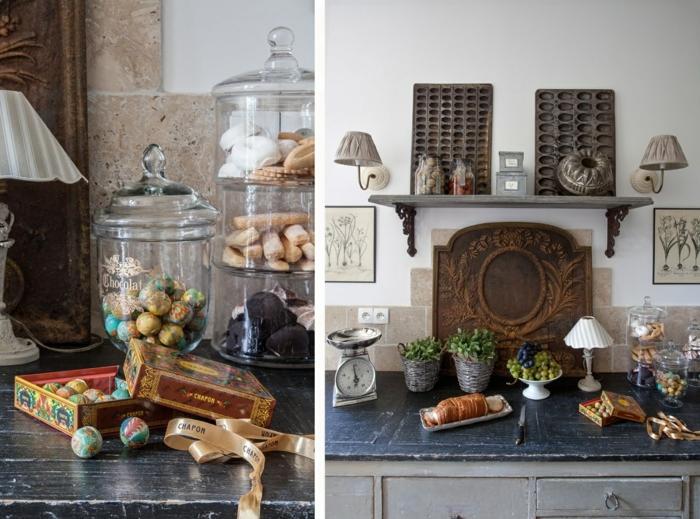 la bonbonni re en verre une touche mignon pour votre maison. Black Bedroom Furniture Sets. Home Design Ideas