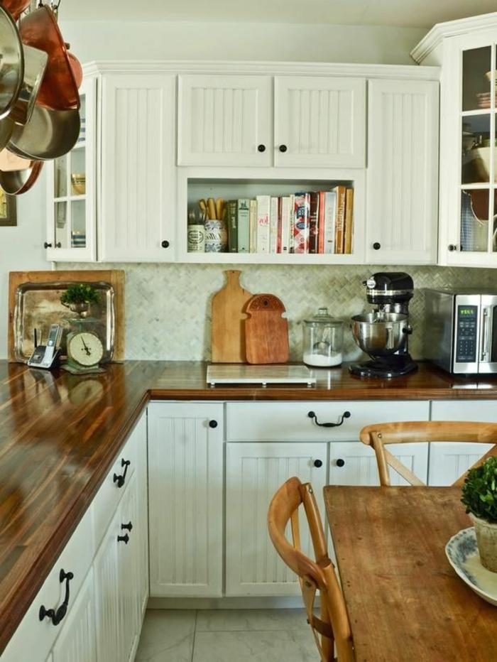 crédence-de-cuisine-crédence-castorama-jolie-cuisine-avec-credence-en-bois-meubles-de-cuisine